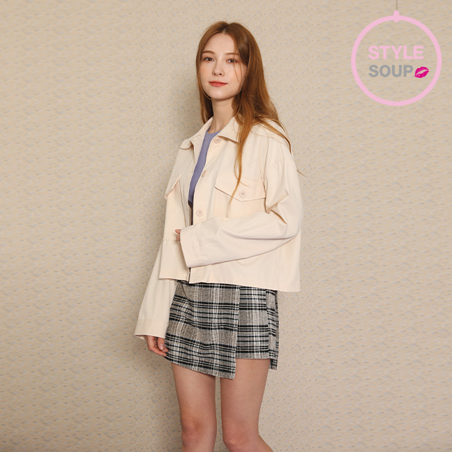 ★20FW신상! [SOUP] 포켓 오버핏 재킷(SW8JKE1)